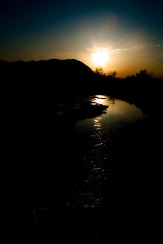 Sunset in Western North Dakota